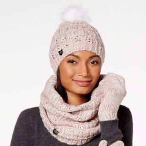 Betsey Johnson  Pearly Girl Snood Infinity Scarf